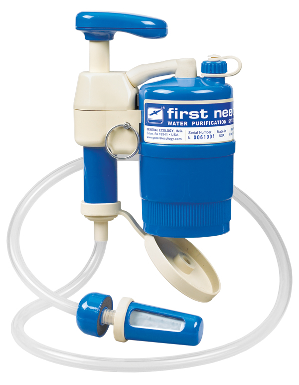 First Need Portable Water Purifiers
